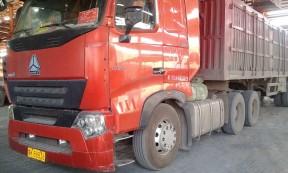 【蒙K88836】山东德州12.5米箱式货车承接到山西忻州方向货源